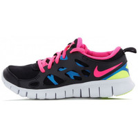Chaussures Fille Running / trail Nike Free Run 2 Junior - Ref. 477701-010 Noir