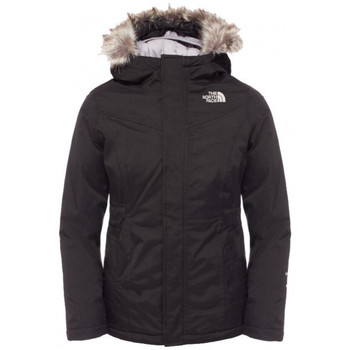 Vêtements Fille Parkas The North Face Parka  Greenland Junior Fille (Noir) - Ref. T0CRV3JK3 Noir