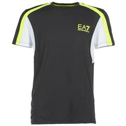 Vêtements Homme T-shirts manches courtes Emporio Armani EA7 VENTUS7 Noir