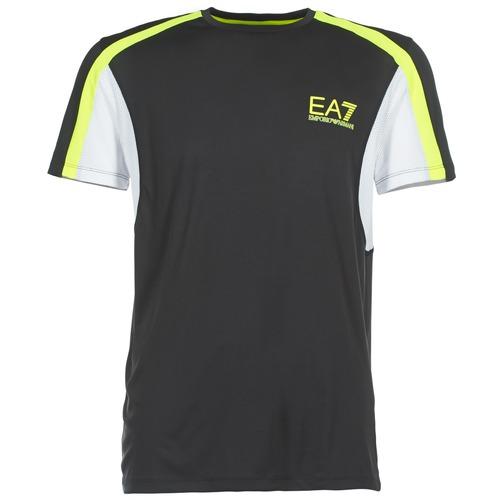 T-shirts & Polos Emporio Armani EA7 VENTUS7 Noir 350x350