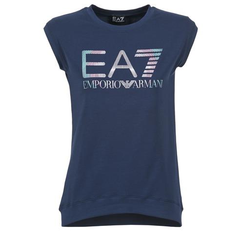 T-shirts & Polos Emporio Armani EA7 ANDROUL Marine 350x350