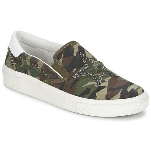 Chaussures Vert Femme Ons Ash Slip Nikita P8kn0OwX