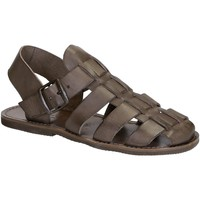 Chaussures Femme Sandales et Nu-pieds Gianluca - L'artigiano Del Cuoio 502 U FANGO GOMMA Fango