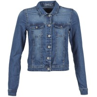 Vêtements Femme Vestes en jean Only NEW WESTA Bleu medium