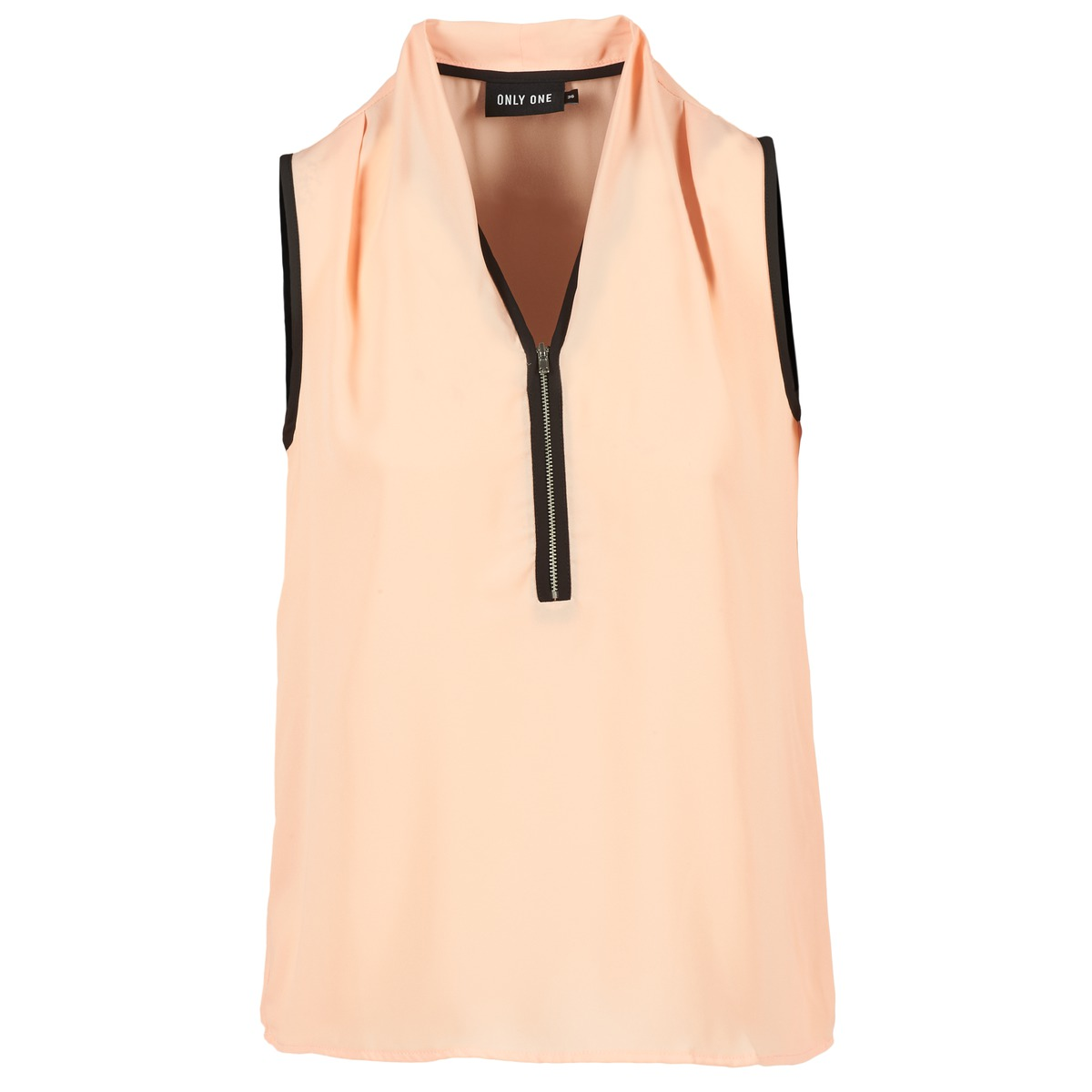 Blouses Only FIA ZIP Orange pastel / Noir