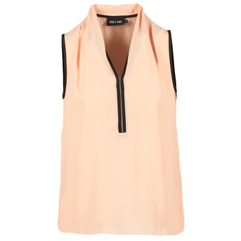 Blouses Only FIA ZIP Orange pastel / Noir 350x350