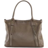 Sacs Femme Sacs porté épaule Oh My Bag Sac à Main cuir femme - Modèle Rangoon taupe foncé TAUPE FONCE