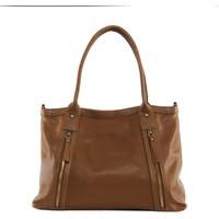 Sacs Femme Sacs porté épaule Oh My Bag Sac à Main cuir femme - Modèle Rangoon cognac foncé COGNAC FONCE