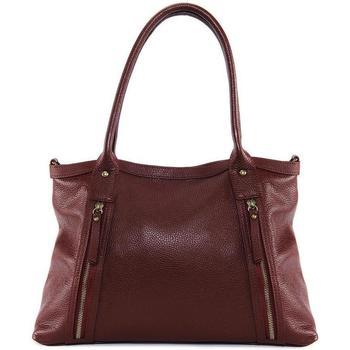Sacs Femme Sacs porté épaule Oh My Bag Sac à Main cuir femme - Modèle Rangoon rouge foncé ROUGE FONCE