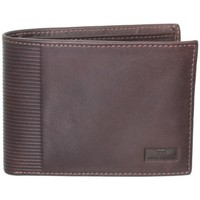 Sacs Homme Portefeuilles David William Portefeuille  en cuir ref_lhc38220-marron Marron