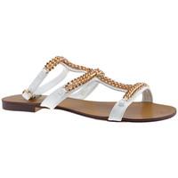 Chaussures Femme Sandales et Nu-pieds F. Milano ChaînedechevilleSandales blanc