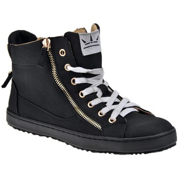 Chaussures Femme Baskets montantes F. Milano Mid Zip Baskets montantes