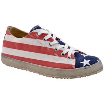 F. Milano USA Flag faible Baskets montantes  - Chaussures Basket montante Femme