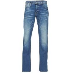 Vêtements Homme Jeans droit Le Temps des Cerises 812 Bleu