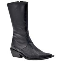 Chaussures Femme Bottines Laura Biagiotti TexanBottines Noir