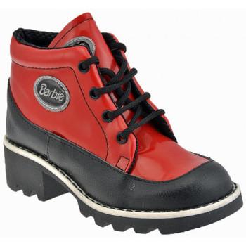 Chaussures Enfant Baskets montantes Barbie Collège Baskets montantes rouge