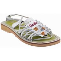 Chaussures Enfant Sandales et Nu-pieds Barbie IXAS Sandales blanc