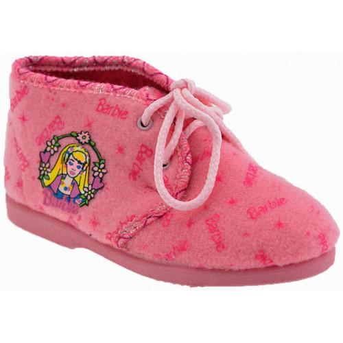 Chaussures Enfant Chaussons Barbie Emily Pantoufles rose