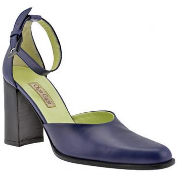 Chaussures Femme Sandales et Nu-pieds Olga Gigli Sangle de talon 90 Sandales bleu