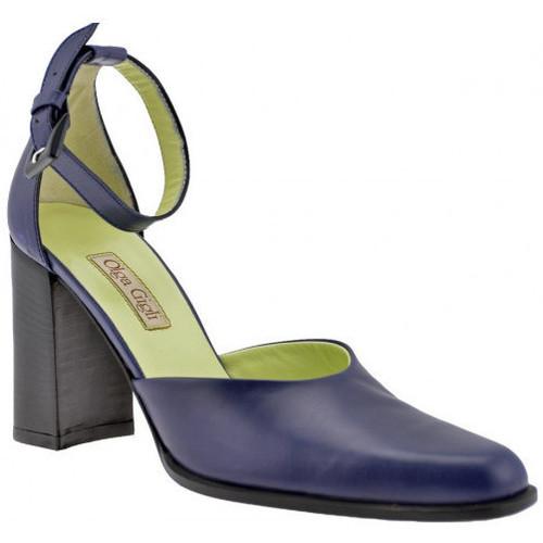 Chaussures Femme Sandales et Nu-pieds Olga Gigli Sangledetalon90Sandales Bleu