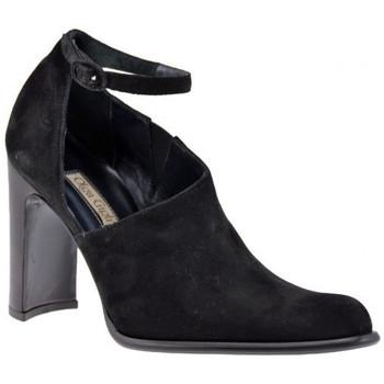 Chaussures Femme Sandales et Nu-pieds Olga Gigli Sangle de talon 90 Sandales Noir