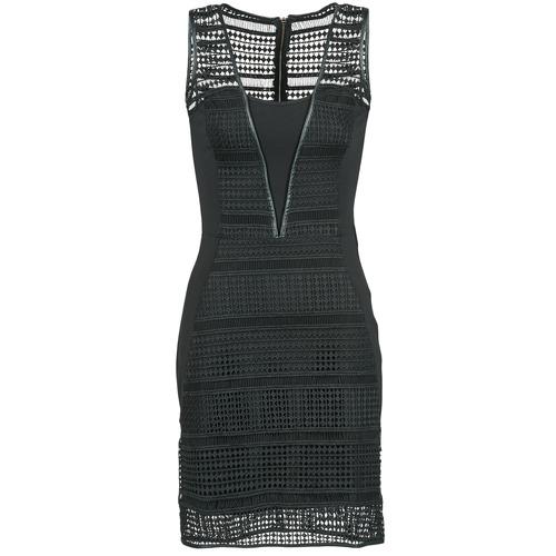 Vêtements Femme Robes courtes Morgan RHONE Noir