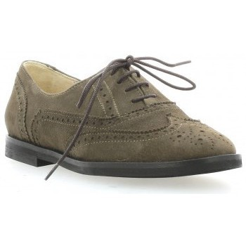 Chaussures Femme Derbies Vidi Studio Derby cuir velours Taupe