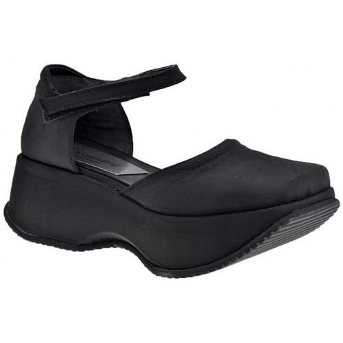 Chaussures Femme Sandales et Nu-pieds Planisphere WedgeVague50Sandales Noir