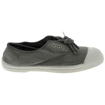 Baskets mode Bensimon Toile Lacet C Gris Perle