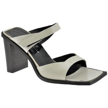 Chaussures Femme Sandales et Nu-pieds Nci 2 sangles velcro talon 80 Sandales