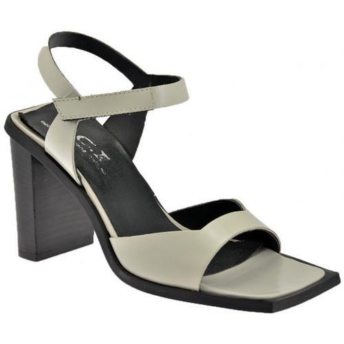 Chaussures Femme Sandales et Nu-pieds Nci Velcro Talon 85 Sandales Beige