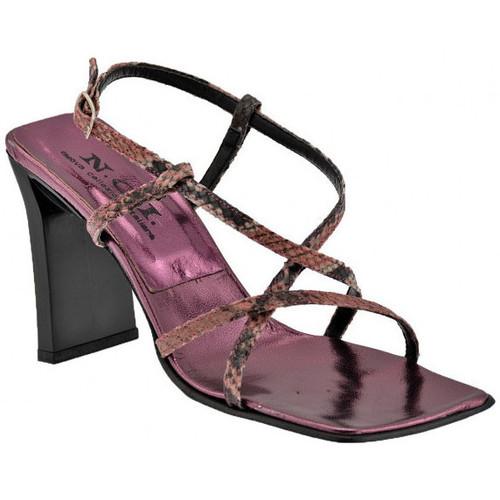Chaussures Femme Sandales et Nu-pieds Nci Croisés talon Reptile 90 Sandales