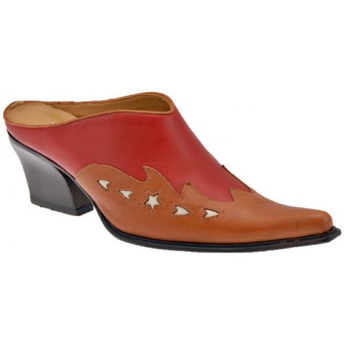 Chaussures Femme Sabots Nci TalonTexan70Sabot Rouge
