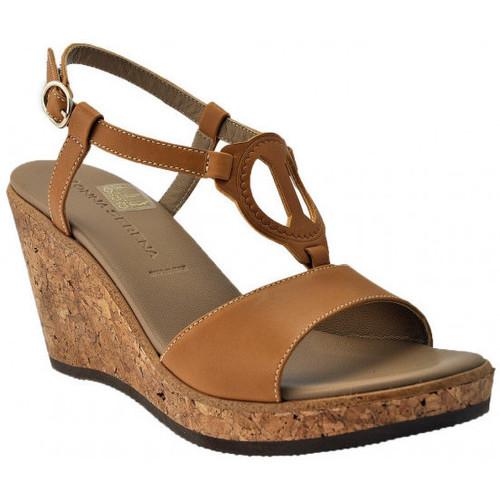 Chaussures Femme Sandales et Nu-pieds Donna Serena Wedge 80 Sandales Marron