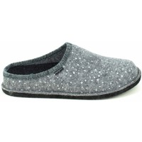 Chaussures Femme Chaussons Fargeot Saxe Gris Gris