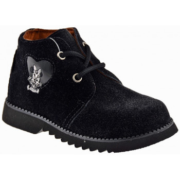 Chaussures Fille Boots Disney LacetsdeveloursCasualmontantesCasualmontantes Casual montantes Noir