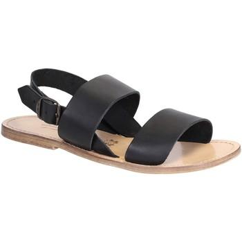 Chaussures Femme Sandales et Nu-pieds Gianluca - L'artigiano Del Cuoio 500X U NERO LGT-CUOIO nero