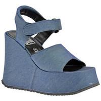 Chaussures Femme Sandales et Nu-pieds No End Wedge 120 Plateau 50 Sandales bleu