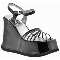 Chaussures Femme Sandales et Nu-pieds No End Wedge 120 Sandales Noir