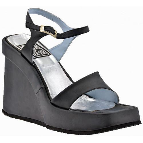 Chaussures Femme Sandales et Nu-pieds No End Wedge100Sandales Noir