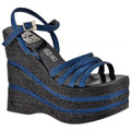 No End Glitter Wedge 140 Sandales