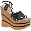 No End Esclave Wedge 140 Sandales