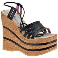 Chaussures Femme Sandales et Nu-pieds No End Esclave Wedge 140 Sandales Noir