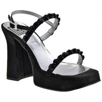 Chaussures Femme Sandales et Nu-pieds No End Roses Heel 130 Sandales Noir