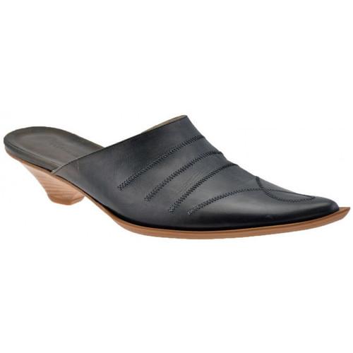 Chaussures Femme Sabots No End TalonTexan30Sabot Noir