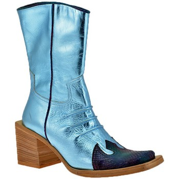 Chaussures Femme Bottines No End Place de talon Texan Bottines