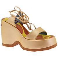 Chaussures Femme Sandales et Nu-pieds No End Esclave Wedge 110 Sandales Doré