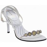 Chaussures Femme Sandales et Nu-pieds Chedivé Strass talon 100 Sandales blanc