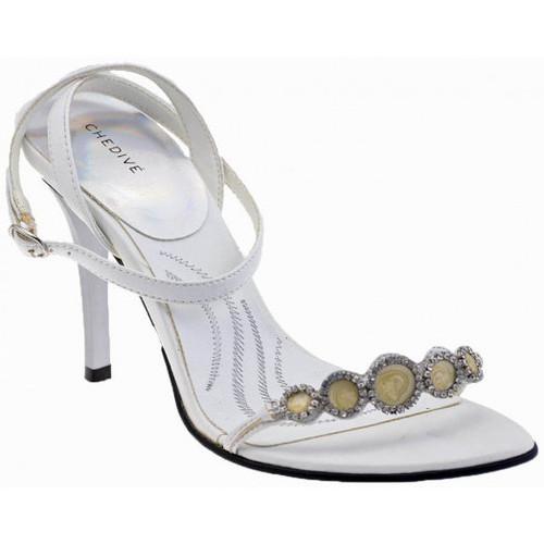 Chaussures Femme Sandales et Nu-pieds Chedivé Strass talon 100 Sandales