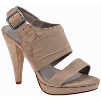 Chaussures Femme Sandales et Nu-pieds Chedivé Talon bandes 110 Dive & Co. Sandales Beige